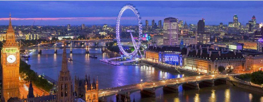 Je pars à Londres durant le mois de décembre