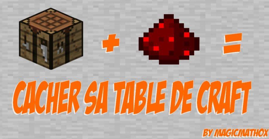 Comment faire une table de craft - Comment faire une table d enchantement ...