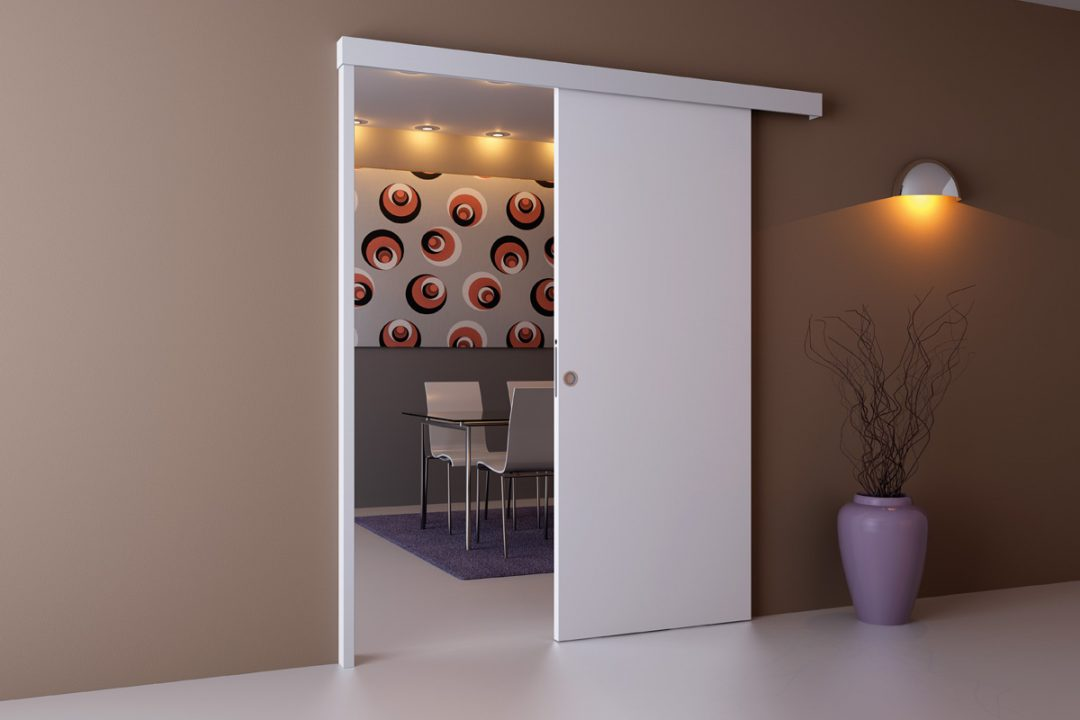 comment installer une porte coulissante. Black Bedroom Furniture Sets. Home Design Ideas